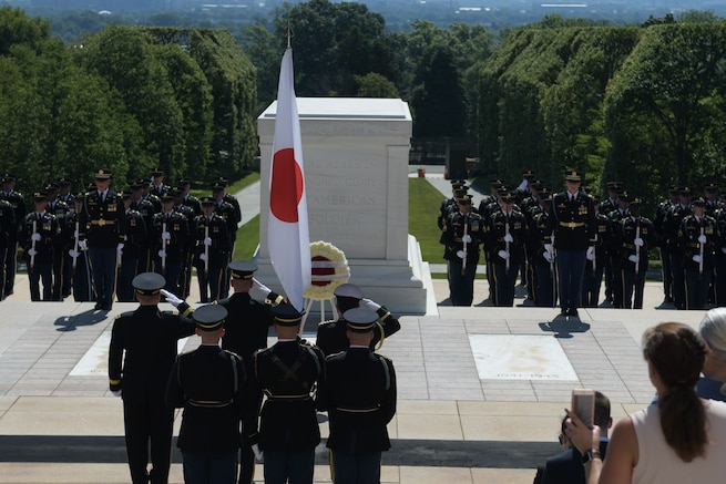 Japan Honors the Fallen