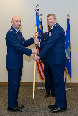 81 CS Change of Command