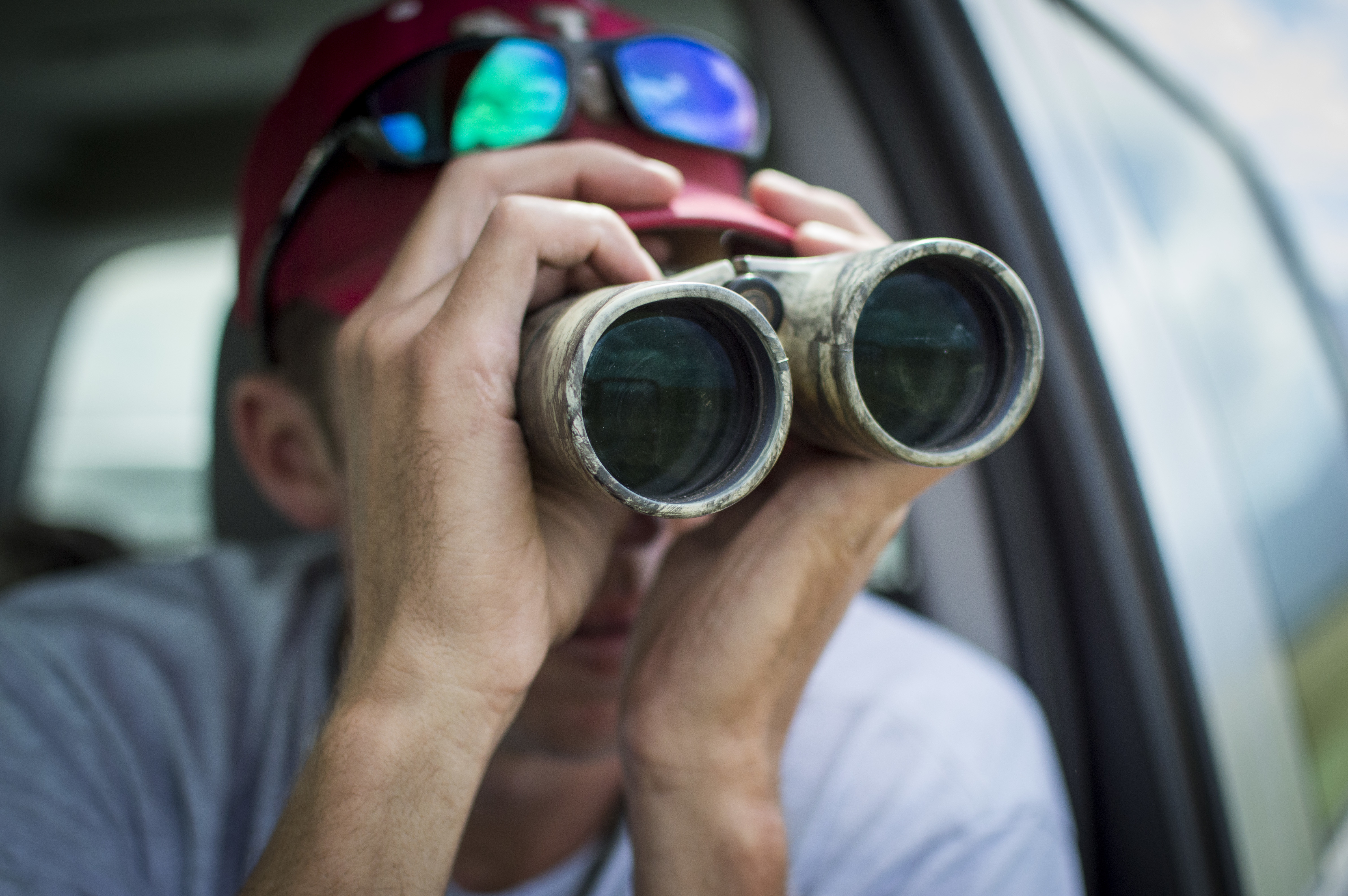 Keeping watch: Wildlife biologist surveys Peterson AFB for ...