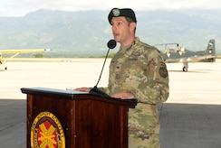 Soto Cano Air Base receives new garrison commander
