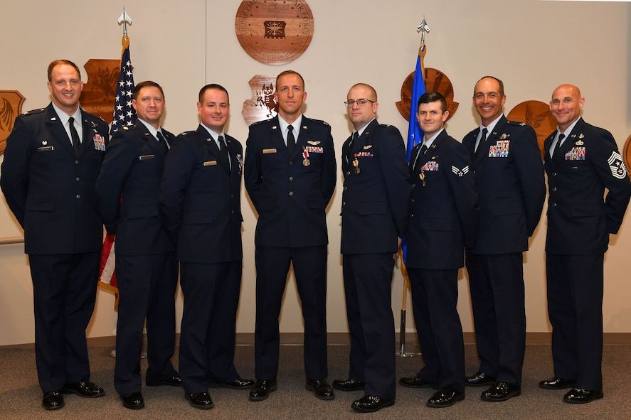 This award ceremony recognized the direct impact Remotely Piloted Aircraft aircrews have on the battlefield and distinguished those who performed extraordinarily in their capacities. (U.S. Air Force photo by Senior Airman James Thompson)