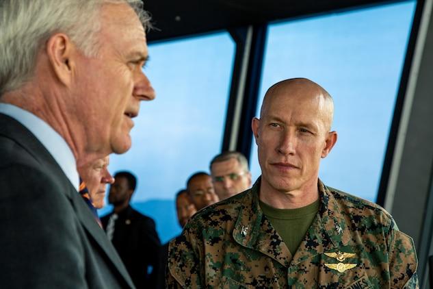 Secretary of the Navy, US Forces Japan, III MEF leadership visit Iwakuni