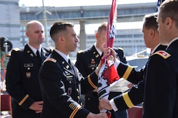 Lt. Col. Adam J. Czekanski officially turned over command of the U.S. Army Corps of Engineers, Buffalo District to Lt. Col. Jason A. Toth the morning of June 29, 2018.