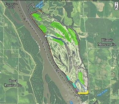 Keithsburg HREP Map