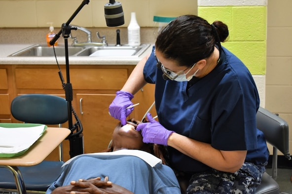 Airmen, Sailors provide no-cost medical services in East Central Georgia