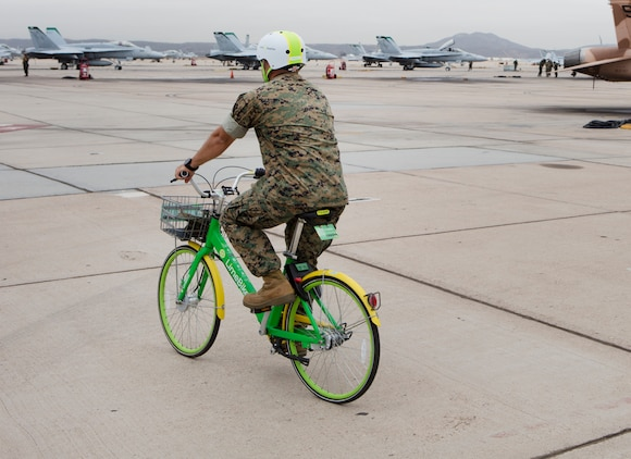 LimeBike arrives at MCAS Miramar