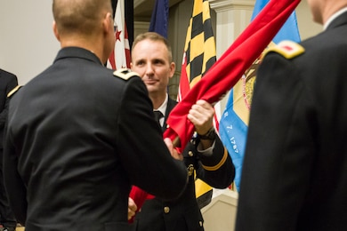 Col. John T. Litz became the 68th commander of the U.S. Army Corps of Engineers, Baltimore District, during a military change of command ceremony this morning at the Radisson Hotel downtown. He assumed leadership from Col. Edward P. Chamberlayne who had commanded Baltimore District since July 2015.