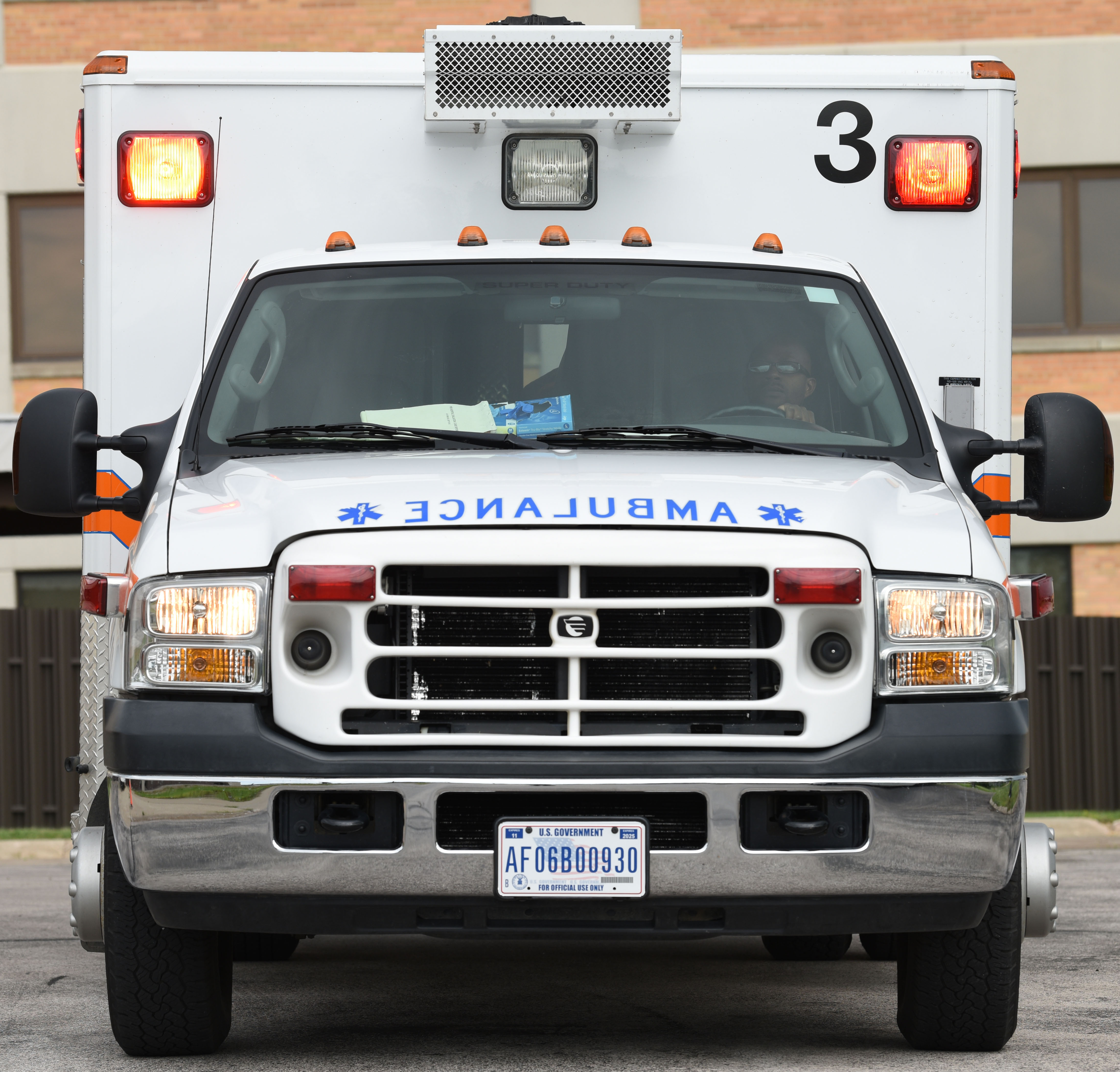 Ambulance services drive, strive to keep you alive > Ellsworth Air