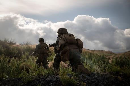 U.S. Marines train with RIMPAC participants on Island of Hawaii