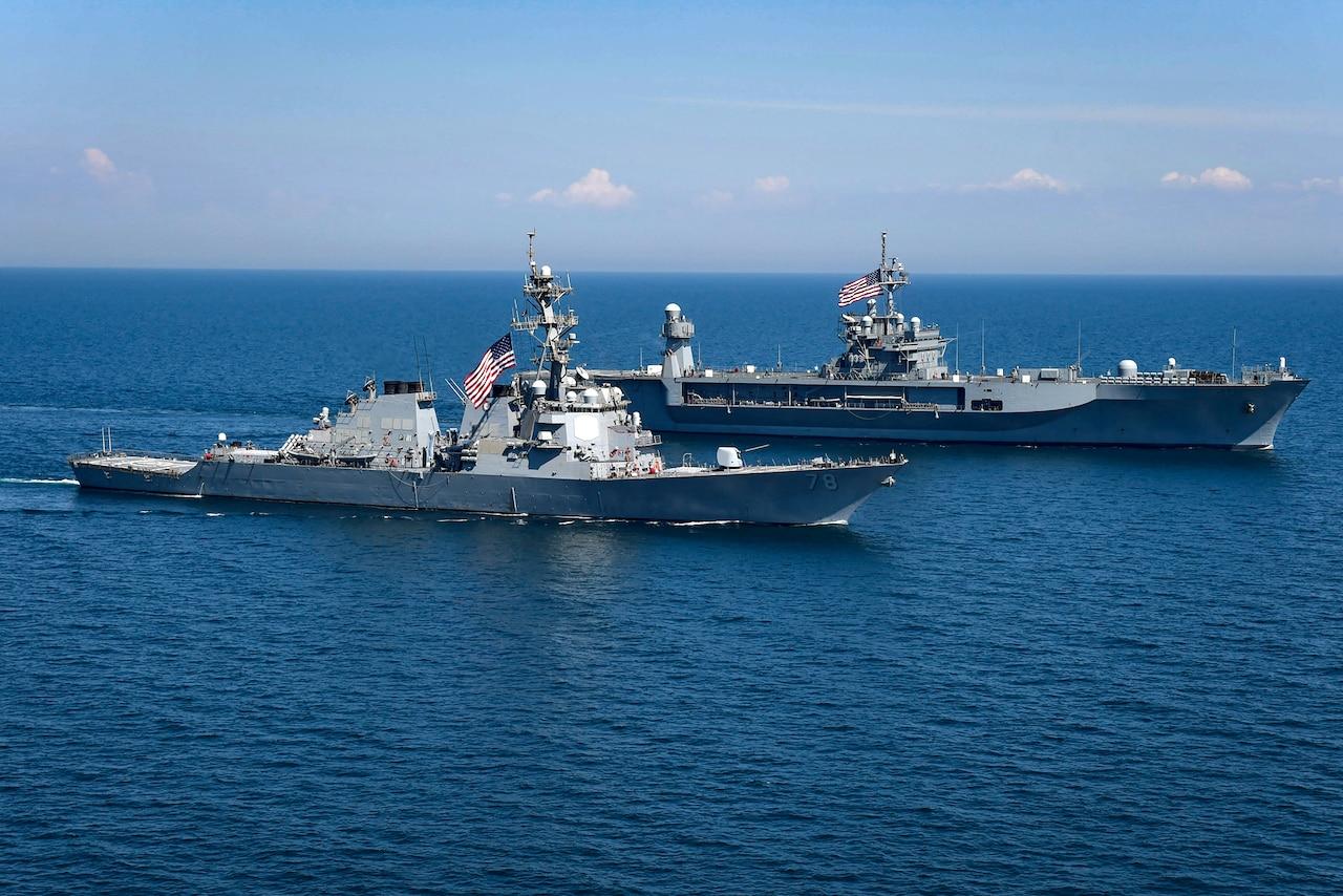 US Military News • Air Demonstration • Exercise Sea Breeze 2021 • Odesa Ukraine June 30 2021