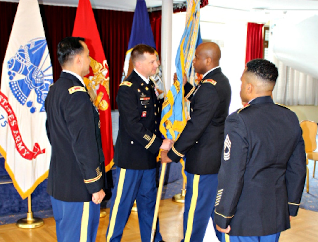 Army Quartermaster officer takes charge of DLA Troop Support Europe and Africa