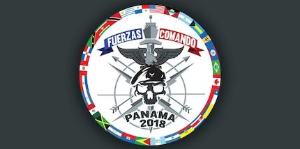 Fuerzas Comando 2018 logo.