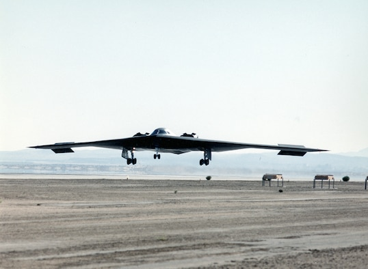 B-2 Spirit Makes First Flight