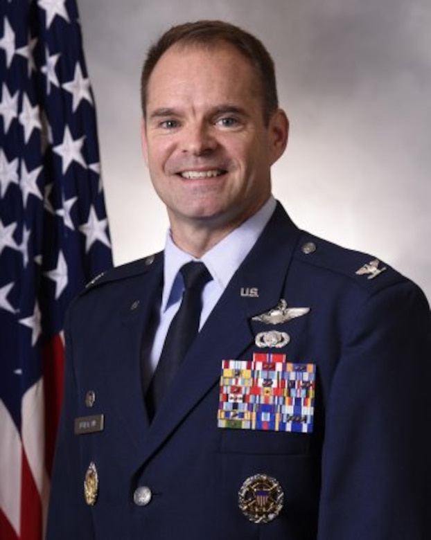 Colonel Mark S. Fuhrmann is the Commander, 62nd Operations Group, Joint Base Lewis-McChord, Washington. He ensures the combat readiness of approximately 700 active duty military and civilian personnel in four squadrons, operating 48 C-17A Globemaster III aircraft to support worldwide combat and humanitarian airlift and airdrop operations.