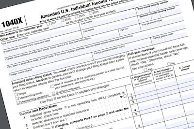 IRS Form 1040X
