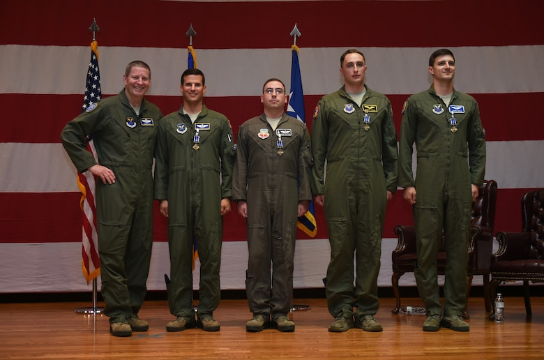 4 Dyess aircrew earn Distinguished Flying Cross Medals