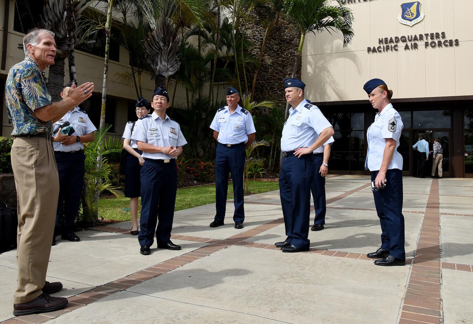 JASDF Surgeon General Visits PACAF