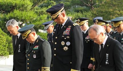 Today, the Republic of Korea honors those who have fallen while defending its freedom.
