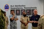 IOSCO students tour DLA Distribution Eastern Distribution Center