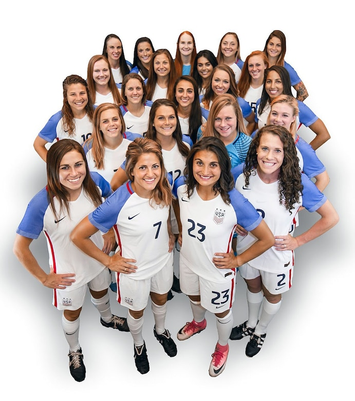 U.S. Women's Armed Forces Soccer team