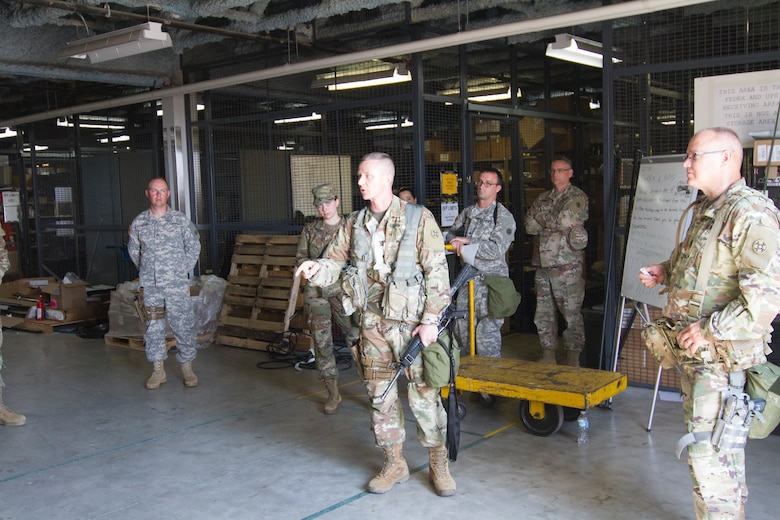 643rd RSG gets back to the basics