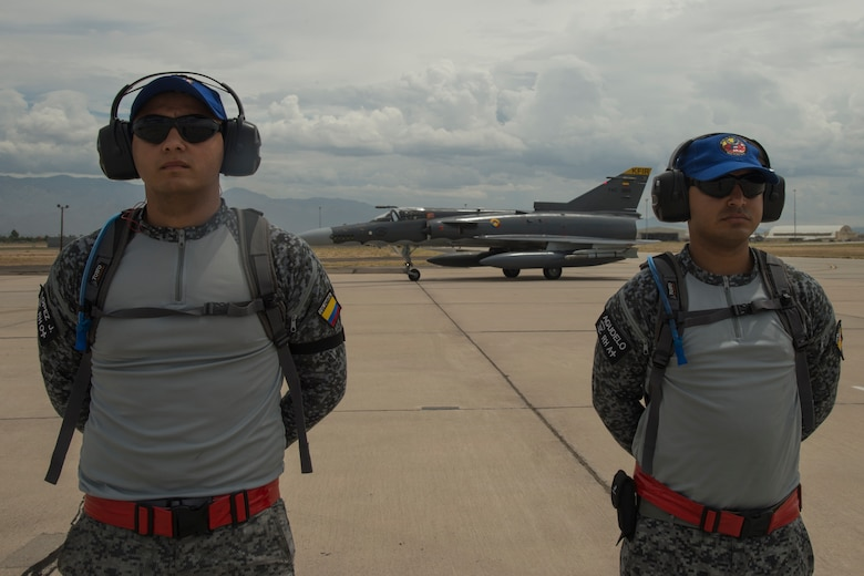 Colombian Kfirs fighters train with the A-10, F-16