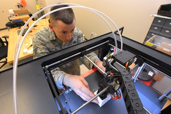 388th Maintenance group 3-D printer