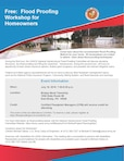The Pittsburgh District is hosting a flood-proofing workshop for community officials and homeowners