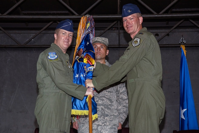 35 FW guidon passed to new commander