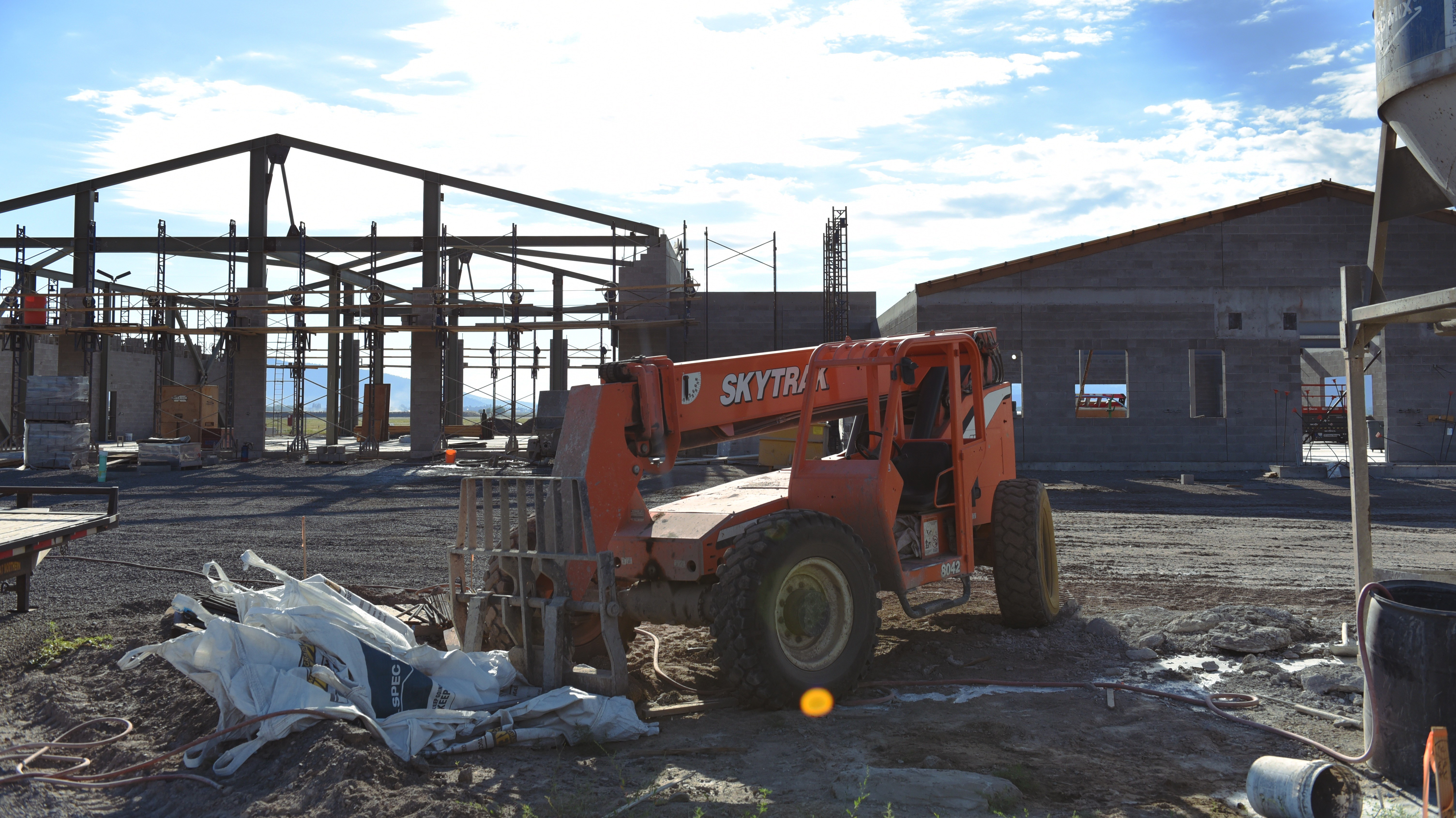 Construction Continues On New Kingsley Field Fire Department 173rd Fighter Wing Article Display