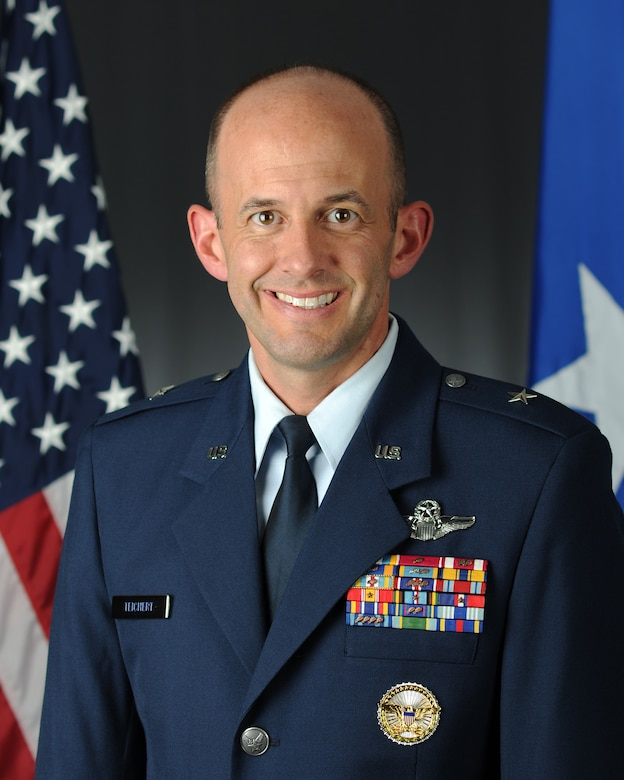 Brig. Gen. E. John Teichert III. (U.S. Air Force photo)