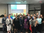 Twenty-two employees from Defense Contract Management Agency Lockheed Martin Moorestown in New Jersey participated on June 27 in a team-building workshop entitled, Communication: Do you Hear and See what I Hear and See? (Photo courtesy of DCMA Lockheed Martin Moorestown)