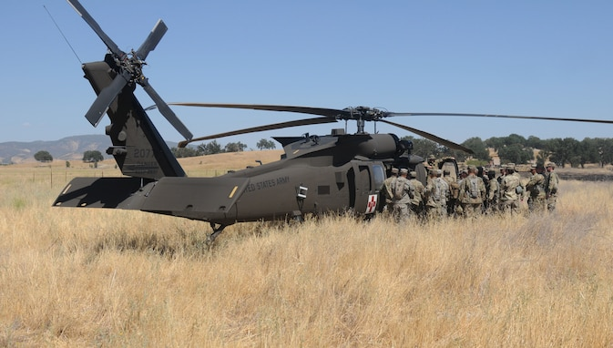 MEDEVAC 101: Army Reserve Soldiers train on the fly