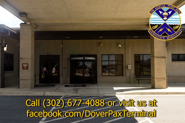 Dover Air Force Base's 436th Aerial Port Squadron is home to the Department of Defense's Super Port. To secure your spot on a space available flight or for more information call (302) 677-4088. (U.S. Air Force photo illustration by Airman 1st Class Zoe M. Wockenfuss)