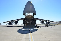 wo C-5M Super Galaxy aircraft were highlighed during the 349th Air Mobility Wing's July UTA.