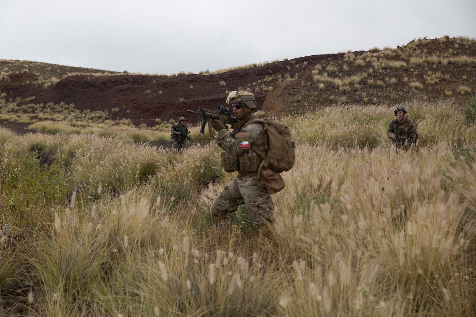 A Chilean Marine's experience at RIMPAC