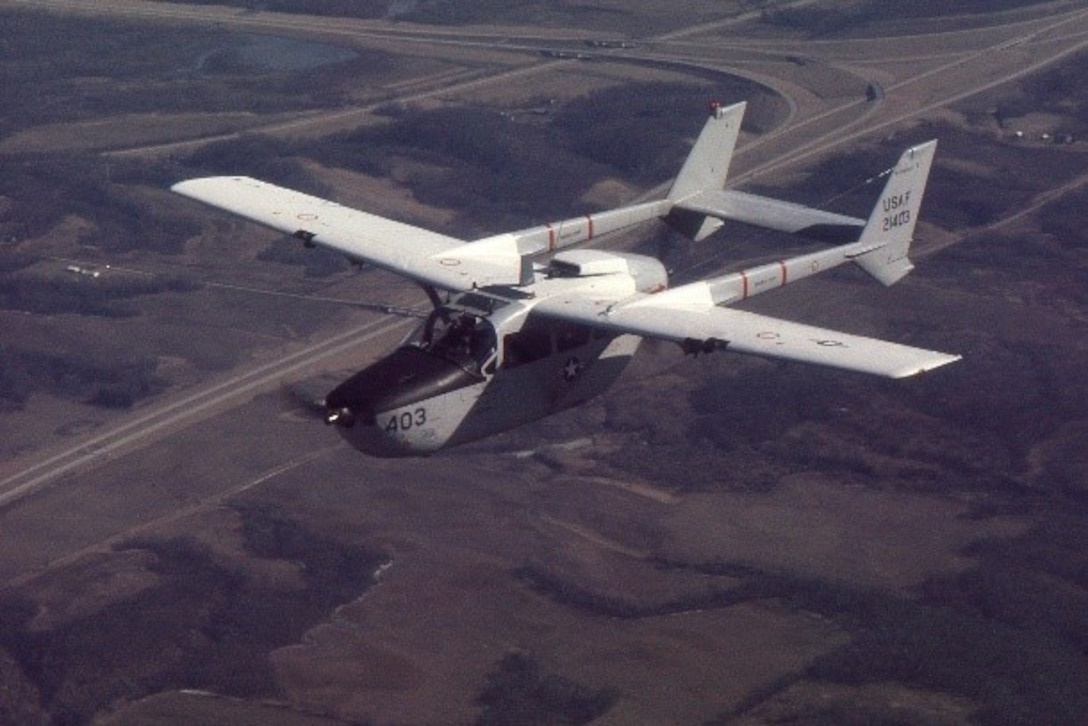 In 1974, the 115th Fighter Wing, then called the 176th Tactical Air Support Squadron, flew the O-2A Skymaster, which had a Forward Air Control (FAC) mission.
