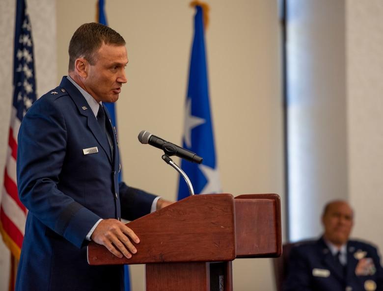 Brig. Gen. John Lamontagne assumes command of 618th AOC