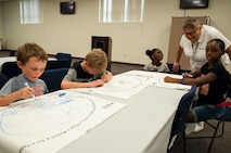 Florida Reserve Citizen Airmen partner with American Red Cross to teach children disaster preparedness