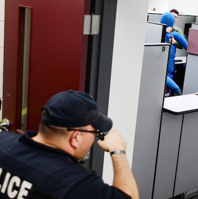DDSP's Active Shooter Exercise tests installation fire department and police force, and community county crisis response teams