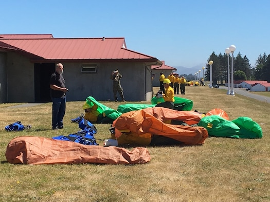 Guardsmen train for fire response