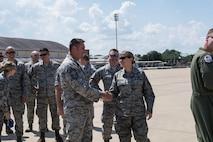 Airmen return home