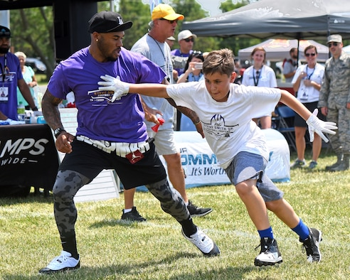 NFL ProCamp comes to Wright-Patt AFB