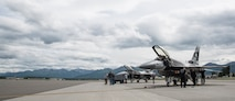 PACAF Demo Team, Eielson AFB jets support Artic Thunder 2018