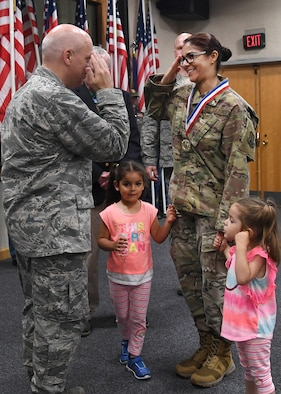 Service members welcomed home from deployment