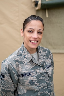 Staff Sgt. Yvette Guillen, 514th Operational Support Squadron, Intel.