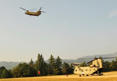 Ore. National Guard activated to assist wildfire suppression