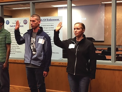 Ohio husband and wife become Citizen-Soldiers together