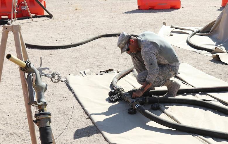 900th QM pushes through tough training in California