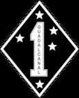 1st Marine Division B-W Logo